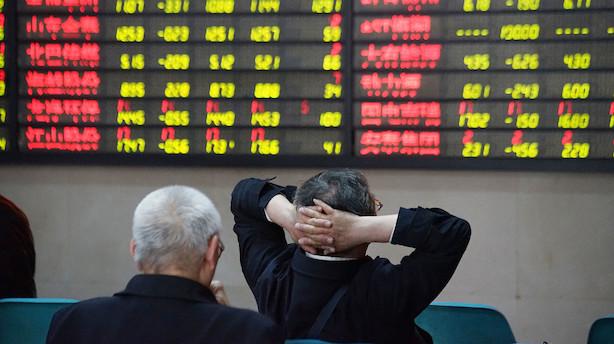"""Trump sender kinesiske aktier mod bunden: """"Der er helt klart en risiko for, at det kan køre længere ned"""""""