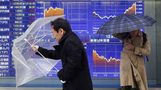 Aktier: Brexit-kaos sender asiatiske aktier ned