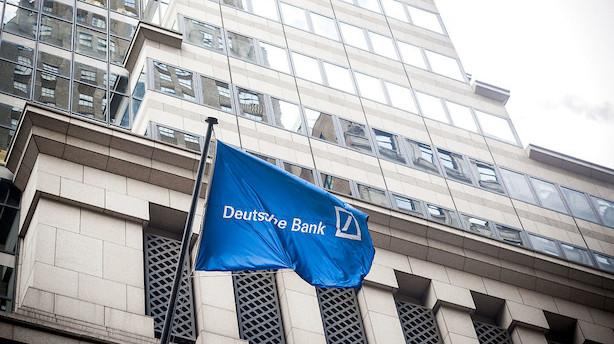 Deutsche Bank skærer i forventningerne til hele året