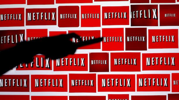 Aktieluk i USA: Små kursfald i nervøst marked - nyt dyk til Netflix