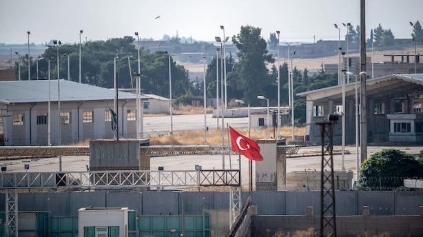 Erdogan: Tyrkisk hæroperation er indledt i Syrien