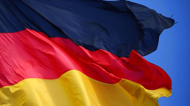 Tyskland: Væksten skuffede lidt i fjerde kvartal