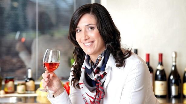 Vigtig kvinde i vinhandlens verden