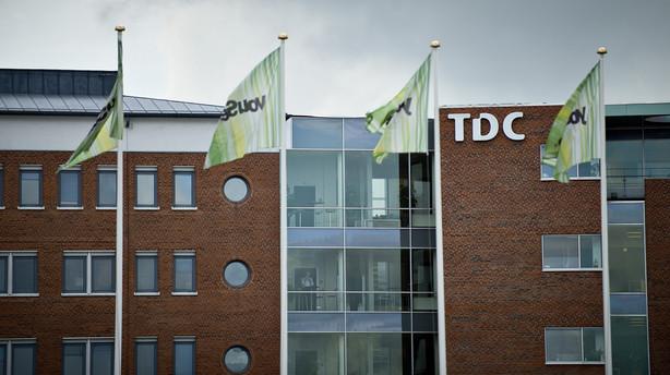 TDC venter resultatnedgang i 2016 og nedskriver voldsomt