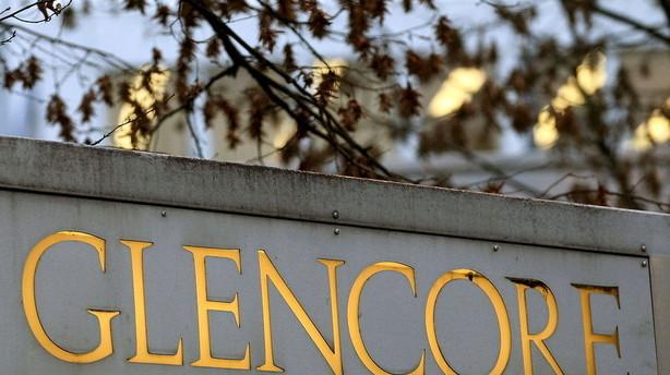Glencores bundlinje bl�der efter nedskrivninger og frasalg