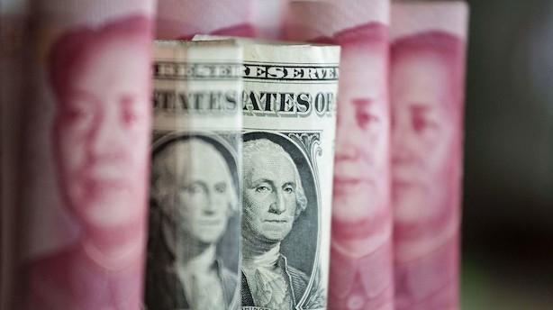 Valuta: Dollar og pund svækkes i tirsdagens handel