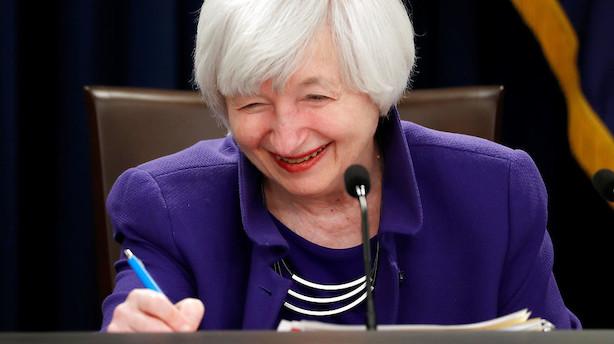 """Analytiker efter rentemøde i USA: """"Et godt miljø for aktiestigninger"""""""