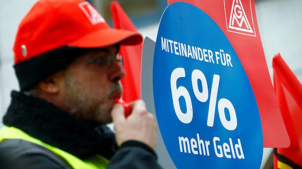 Tyske arbejdsgivere advarer mod strejker