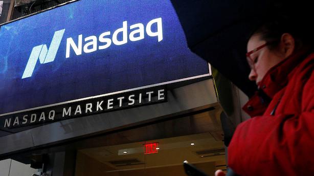 Stærke inflationstal sender amerikanske aktiemarkeder i rødt fra start