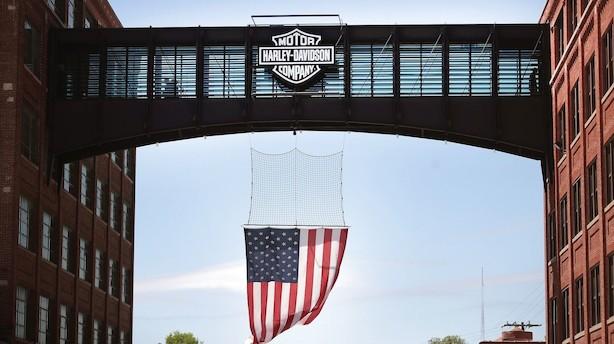 Harley-Davidson flytter produktion fra USA efter straftold