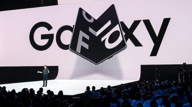 Ny Samsung-telefon hentes tilbage efter skærmproblemer