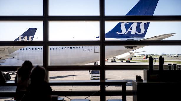 Før markedet åbner: Stor pilotstrejke i SAS kan ramme aktien