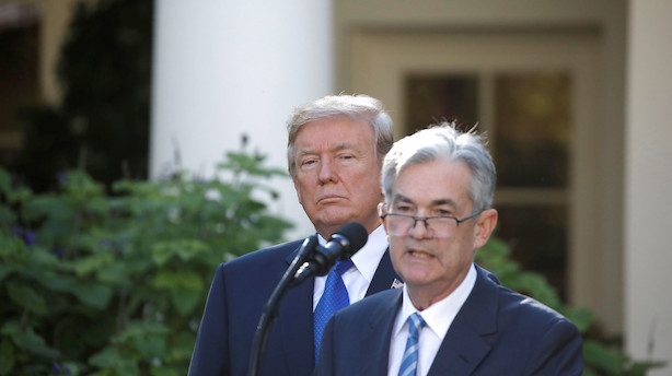 Trump langer ud efter Fed-chef: