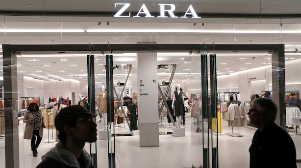 Aktieluk i Europa: Zara-ejer sank til bunds i grønt marked