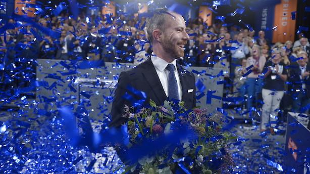 Jakob Ellemann-Jensen er nu officielt Venstres nye formand