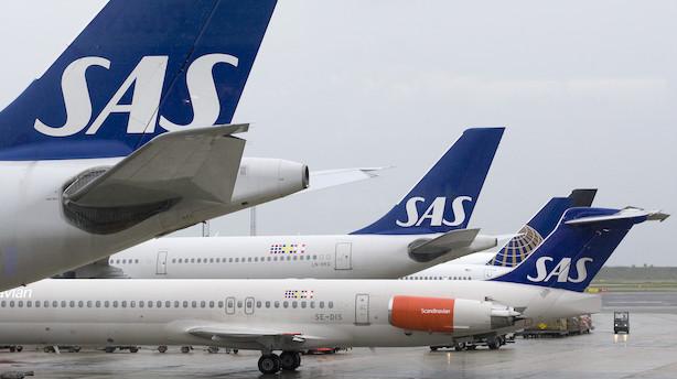 Pilotstrejke truer - SAS aflyser 100 fly