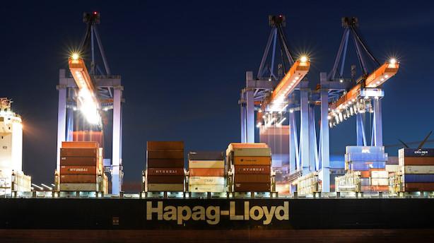 Hapag Lloyd-aktionær bekræfter fransk interesse - Topchef afviser konsolidering i branchen