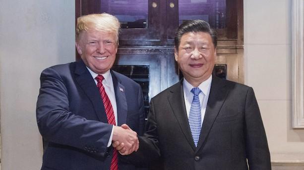 Trump stråler efter møde med Kinas præsident: Kommentatorer er dybt skeptiske