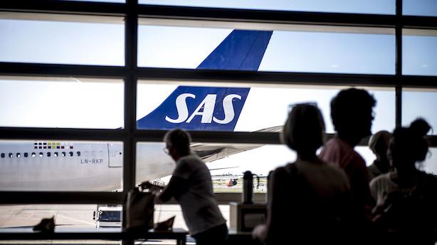Aktiestatus: SAS ramt af usikker fremtid - Ørsted trækker C25 op