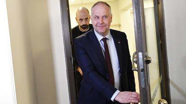 Vänsterpartiet vil ikke stemme på Löfven som statsminister - som situationen ser ud nu