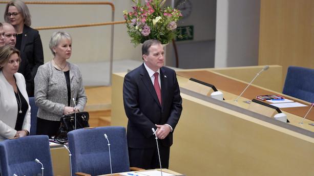 Stefan Löfven er genvalgt som Sveriges statsminister