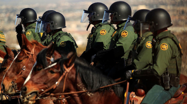 USA sender tusinder af soldater til grænsen mod Mexico