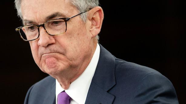 Jyske Bank med dyster forudsigelse: Amerikansk økonomi i recession i 2020 - Powell må sænke renten markant