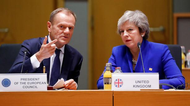 Brexit-kaos fortsætter: Her er tre mulige udfald af torsdagens EU-topmøde