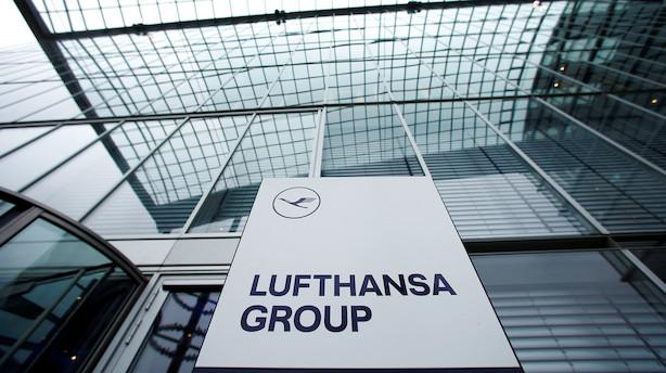 Lufthansa gik i minus i første kvartal