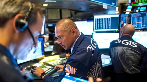 Aktietendens i USA: Fokus skifter fra finans til tech i stillestående indeks