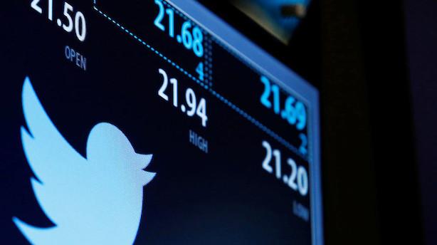 Tæsk til olie, Twitter i hopla på halvtrist handelsdag i USA