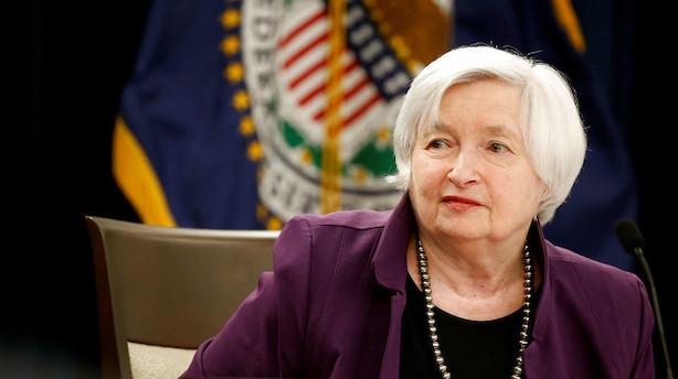 """Yellen starter brandudsalg for milliarder: """"Usikkerheden er stor"""""""