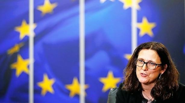 """EU stempler Trump som en bølle: """"Vi er ikke bange, og vi står fast"""""""