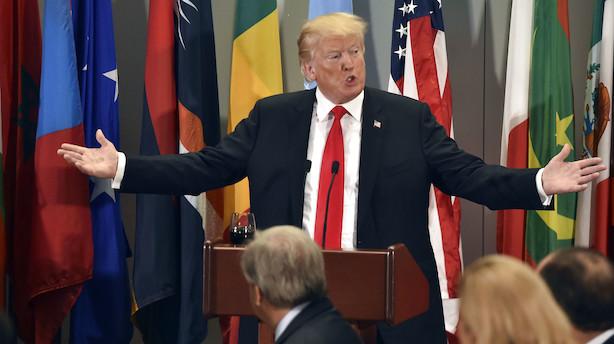 Mens du sov: Trump langer ud mod verdens største oliekartel