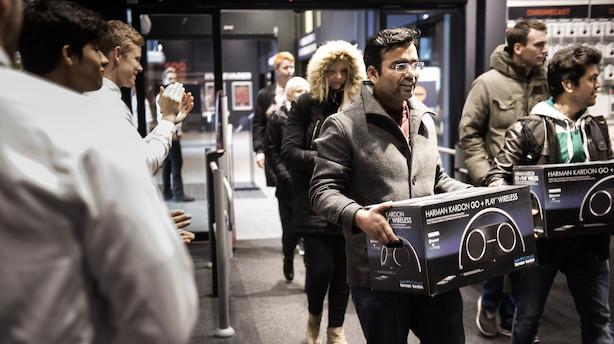 Shop-amok: To mio voksne danskere vil på indkøb på Black Friday og Cyber Monday