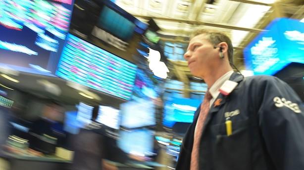 Aktier: Bankfest på Wall Street onsdag