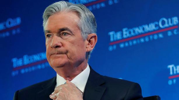 Smæk til aktierne, hvis retorikken fra Federal Reserve bliver for hård