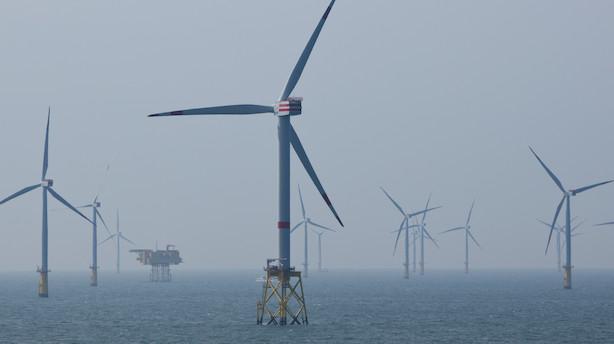 Det store tyske energiselskab og vindenergiinvestor RWE har som ventet tilbagegang