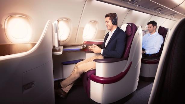 Tre grunde til at vælge Qatar Airways på forretningsrejsen
