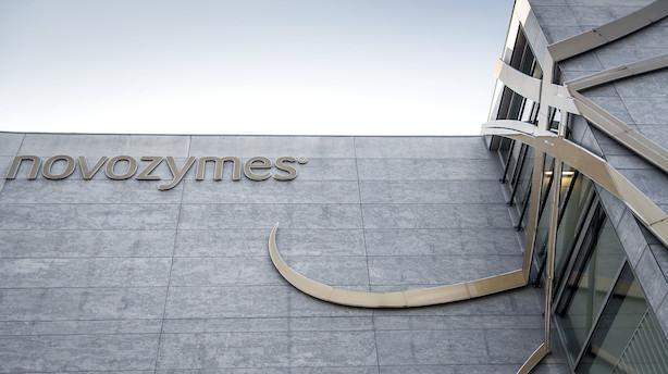 Markedet lukker: Novozymes endte på hælene efter svagt regnskab