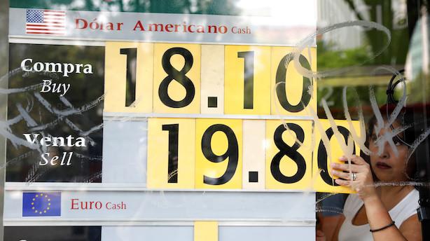 Skuffende amerikansk nøgletal kaster dollar-svækkelse af sig