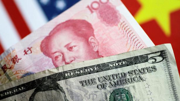 Aktieluk i USA: Kinas centralbank reddede stemningen - it trak markedet op
