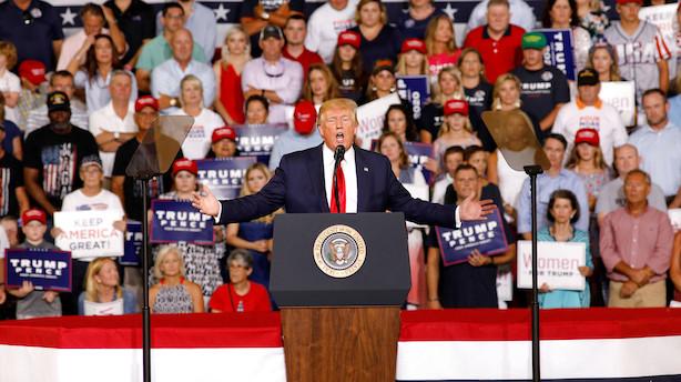 Trump og hans folk afviser recessionsfrygt