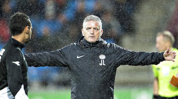 Esbjerg fyrer John Lammers som cheftræner