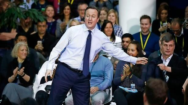 David Cameron presset af øget indvandring