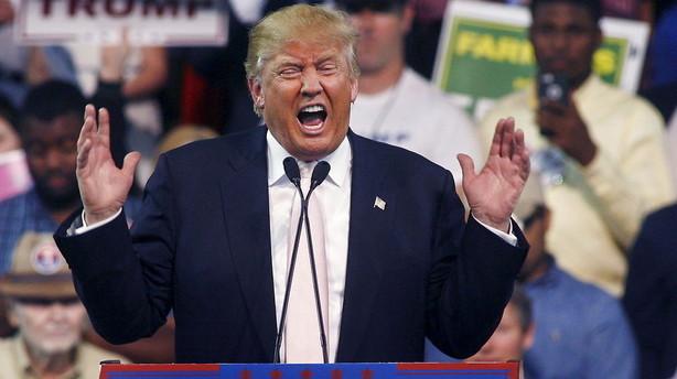 Trumps udspil om en mur ved Mexico-grænse er måske en spøg