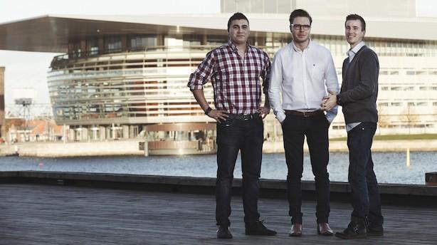 Iværksættere droppede studiet: Omsætter for 19 mio på brugte iPhones