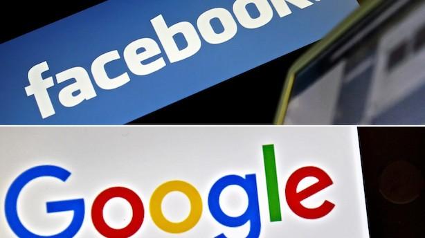 Europa kan miste 40 mia. skattekroner fra Google og Facebook