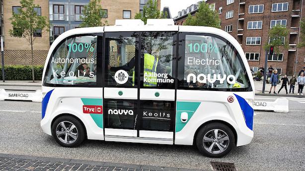 Førerløs bus kan snart få grønt lys