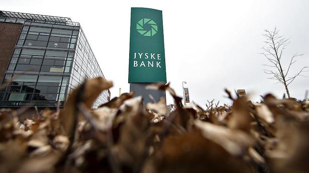 Før markedet åbner: Jyske Bank i fokus i faldende marked